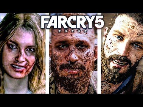 FAR CRY 5 ALL Boss Fights And Ending