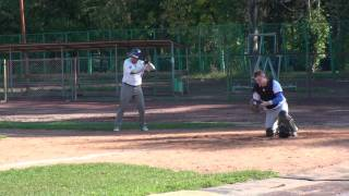 russtar vs beavers - middle 2nd - dugout - (4/18) - 28.08.2011
