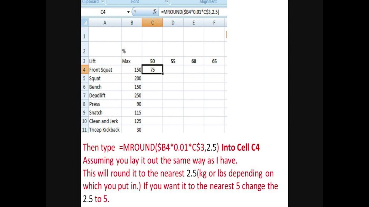 Calculating lift percentages in excel also youtube rh