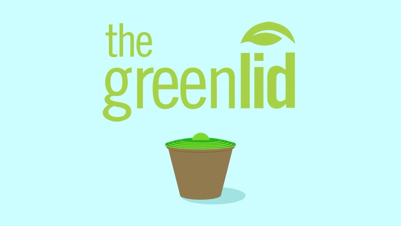 Greenlid: the compostable kitchen compost bin - YouTube
