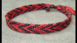 ► Friendship Bracelet Tutorial - Beginner - The Chevron (Double Chevron Base)