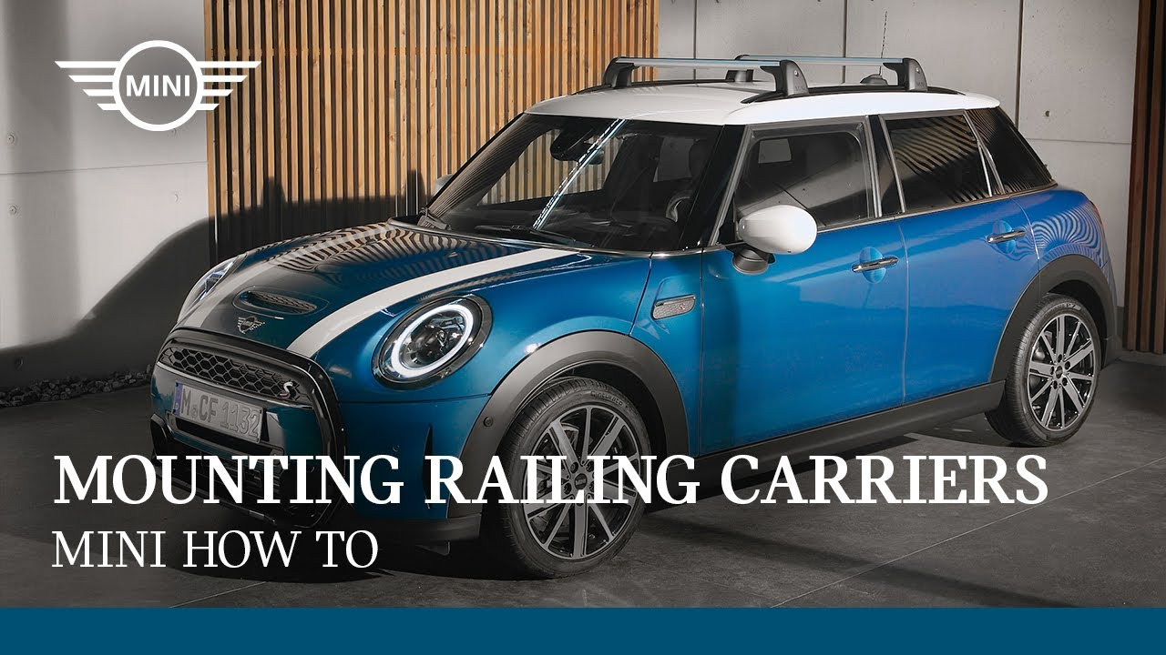 Mounting the MINI Railing Carriers | MINI How To
