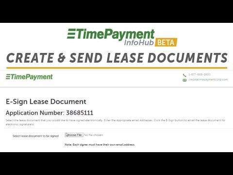 How To Create & Send Digital Lease Documents (ReadyDocs) | TimePayment InfoHub Training