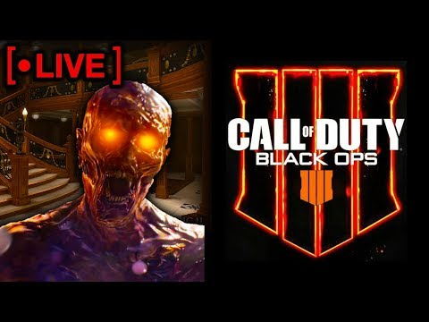 Black Ops 4 Live Stream - Hoping to See Some Zombies