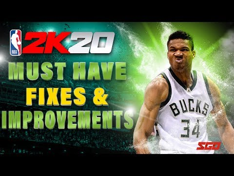 NBA 2K20 Gameplay Wishlist! - MUST HAVE Fixes & Improvements For NBA 2K20  To Be a Success