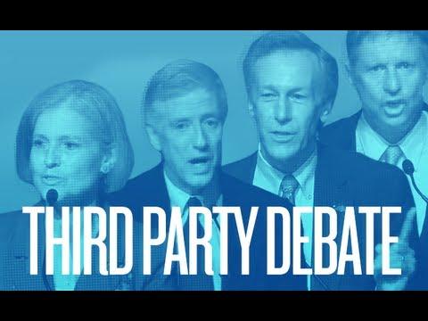 2012 Third Party Presidential Debate   2012 Third Party Presidential Debate   Ora TV