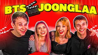 To se dogaja v ZAKULISJU Joongle | BTS | Kaya Solo, Bor, Ema in Erix