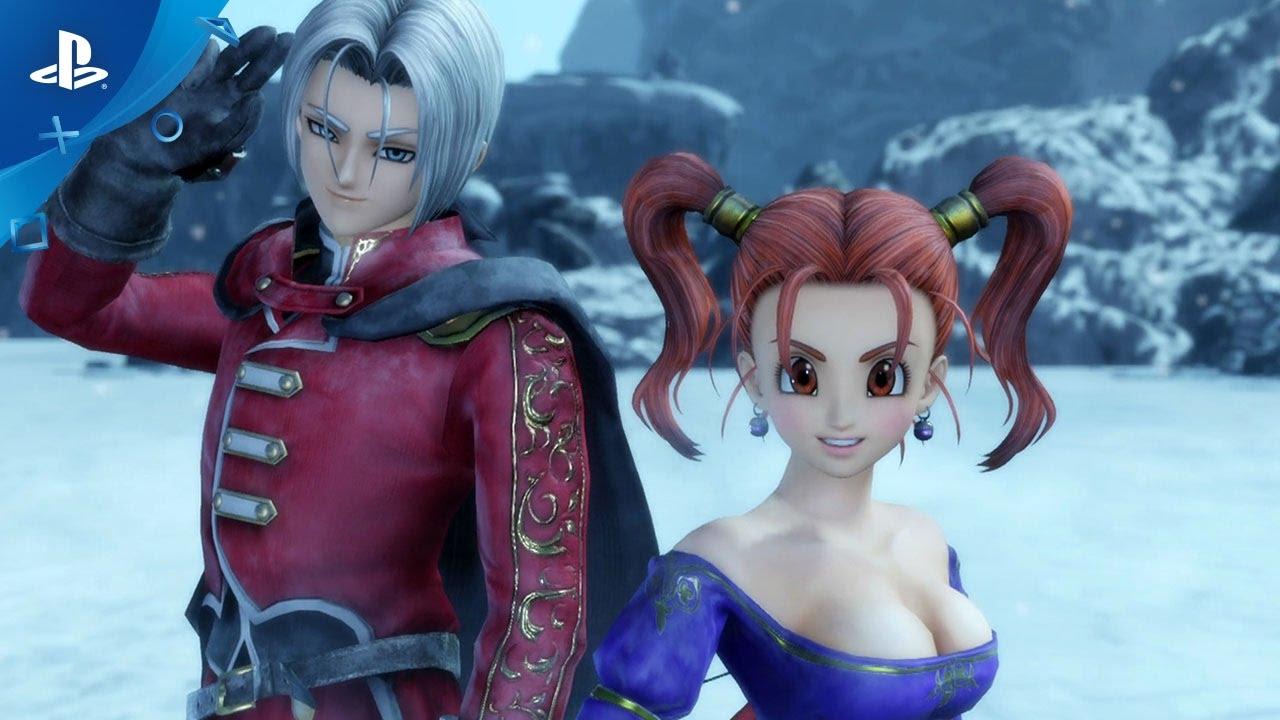 Dragon Quest Heroes II - Meet the Heroes, Part VI: Jessica & Angelo | PS4