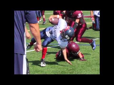 Elementary School Kid breaks Arm In Football - See and hear it!