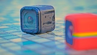 GoPro Hero 4 Session vs Polaroid Cube