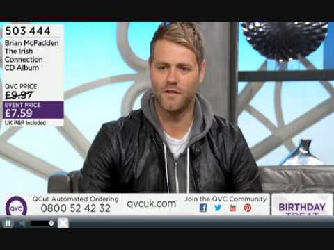 Brian McFadden Interview QVC