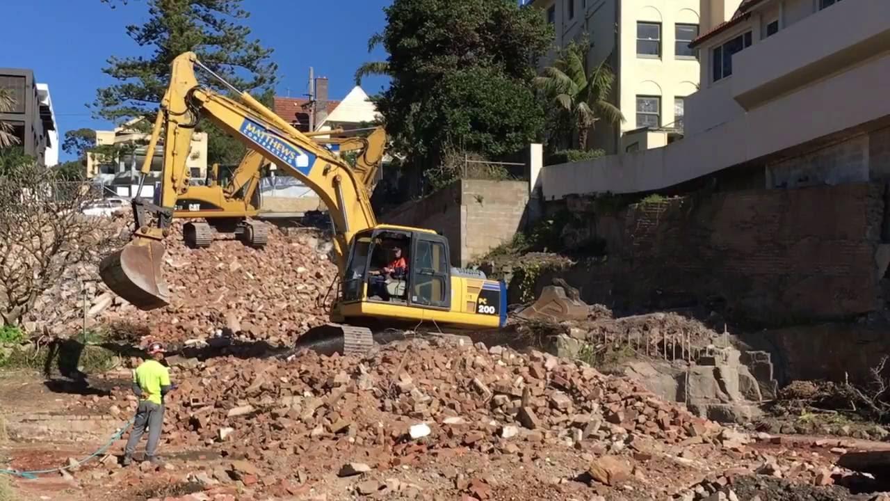 Digger excavator Backhoe loader for kids: Construction ...