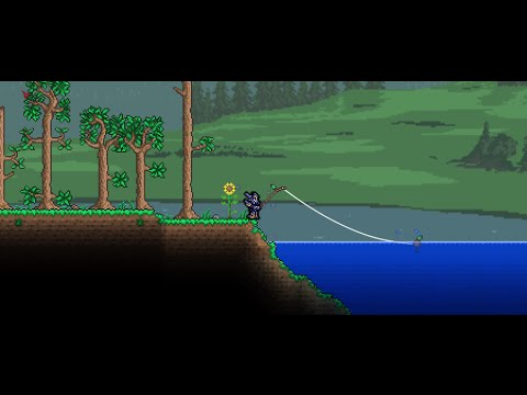 Terraria fishing glitch youtube for Fishing poles terraria
