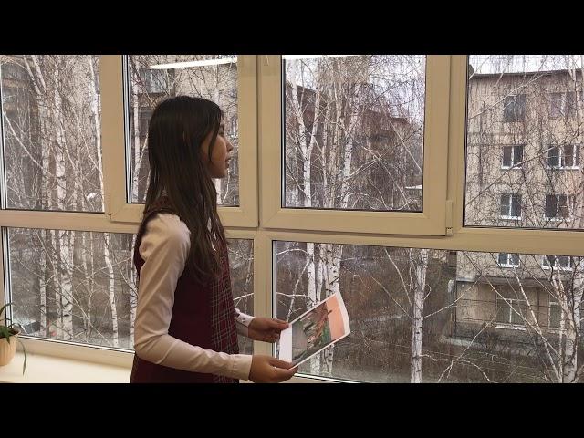 Изображение предпросмотра прочтения – ОлесяПетенкова читает произведение «Домики старой Москвы» М.И.Цветаевой