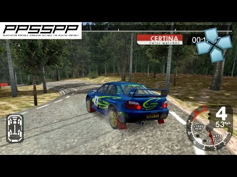 Colin Mcrae Rally 2005 Plus - PSP Gameplay (PPSSPP) 1080p