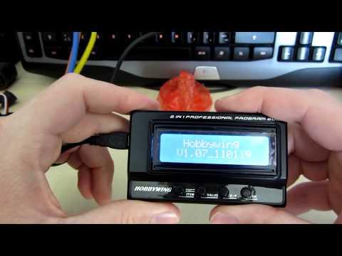 HobbyWing 3in1 Xerun Ezrun Platinum ESC LCD Program Box /& Lipo Tester//Checker