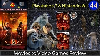 Movies to Video Games Review -- The Mummy: Tomb of the Dragon Emperor (PS2 & Wii)