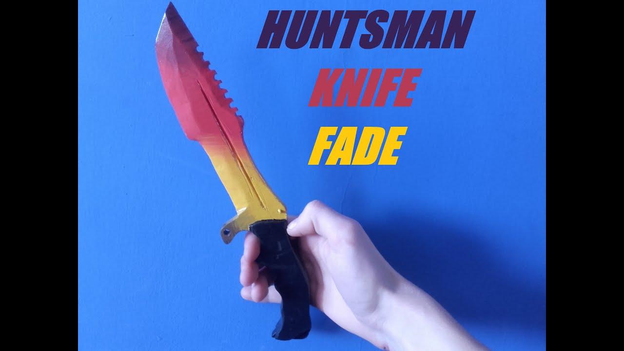 Jak zrobić Huntsman Knife Fade CS GO ? / How to make ... Huntsman Knife Fade