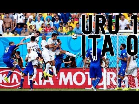 Uruguay KO's Italy, Suarez Jerk of the Year?! [Italy vs. Uruguay Recap]