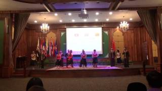 cultural performance - Vietnam Delegation - Asean China Youth Exchange Visit in Cambodia 2016