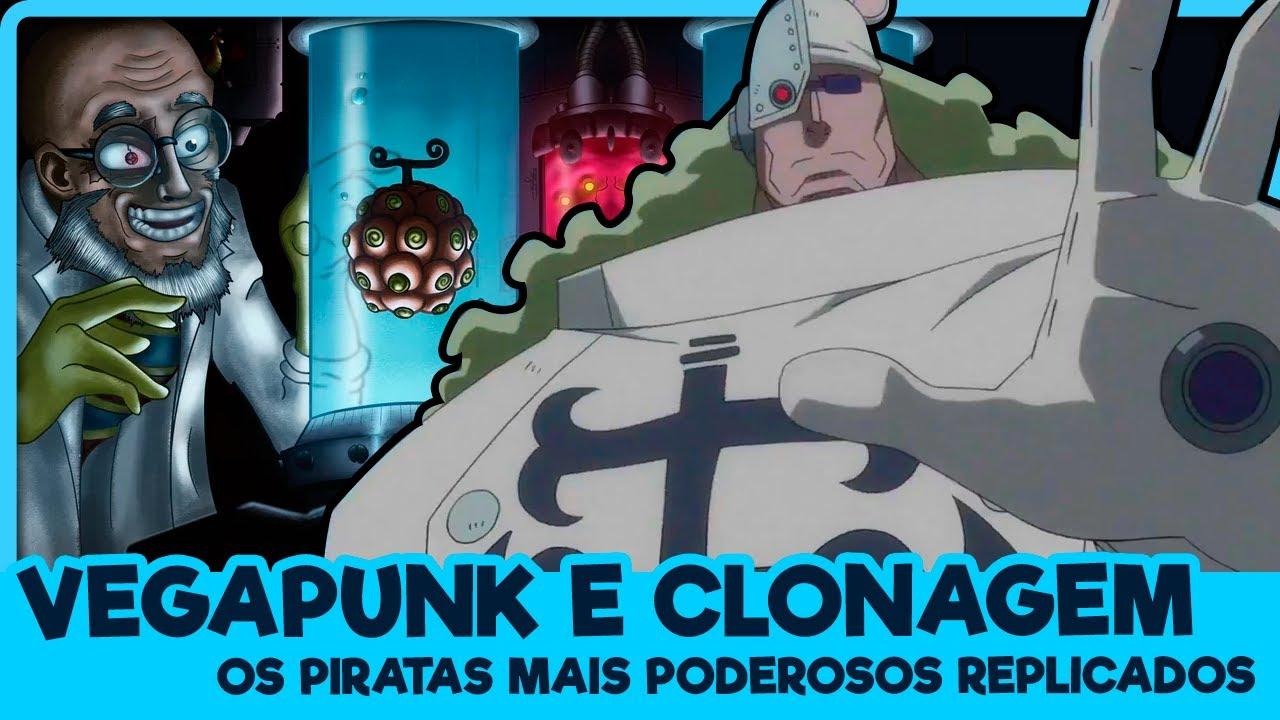 VEGAPUNK E OS PIRATAS MAIS FORTES CLONADOS (One Piece   Mangá)