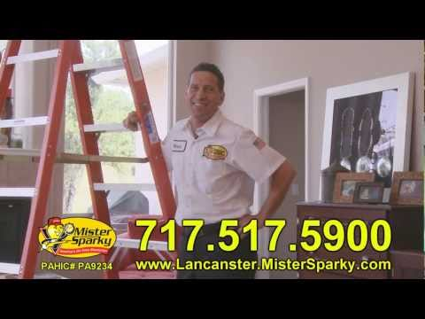 Mister Sparky - Ceiling Fan Installation: The 10 Steps - Lancaster Pennsylvania - Electrician