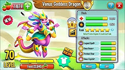 Dragon City: Venus Goddess Dragon, NEW LEGENDARY | EXCLUSIVE DRAGON! 😱