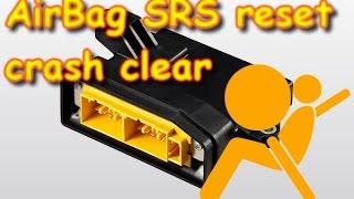 programmer calculator airbag SRS reset crash clear  RENAULT DACIA