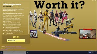 Is the NEW Ultimate Upgrade Pack Worth It? (Fortnite Save the World)
