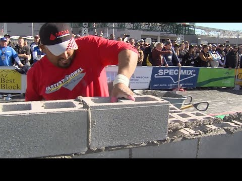 Compete In The 2018 MCAA Fastest Trowel On The Block