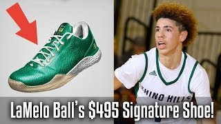 LaMelo Ball's $495 Signature Shoe! -