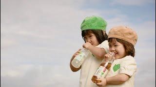 GREEN DA・KA・RA やさしい麦茶『夏の成長アルバム』 2分8秒 しずくちゃん なぎさちゃん サント リー thumbnail