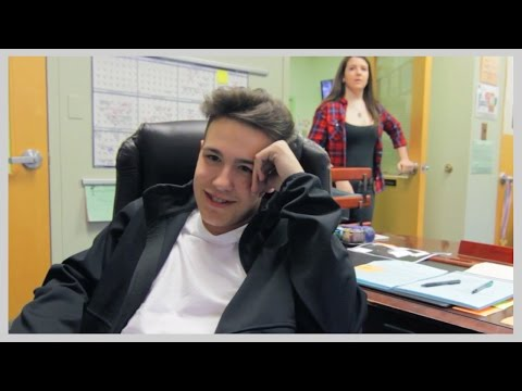 Jacob Whitesides Surprises- Jacob is Principal for a Day!
