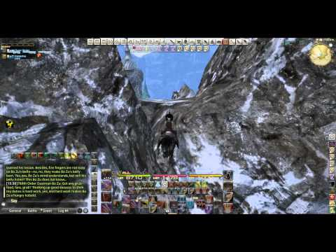 Repeat FFXIV - Glitch how to get out of the map by