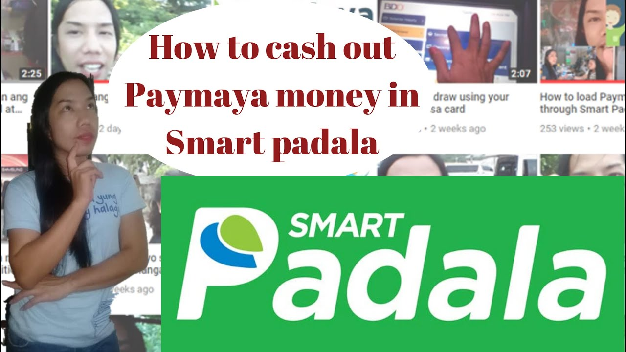 How to cash out money through our Paymaya account in Smart padala/Review  Paymaya