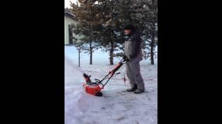 Электрическая снегоуборочная машина PATRIOT 2200(, 2015-12-21T03:17:09.000Z)