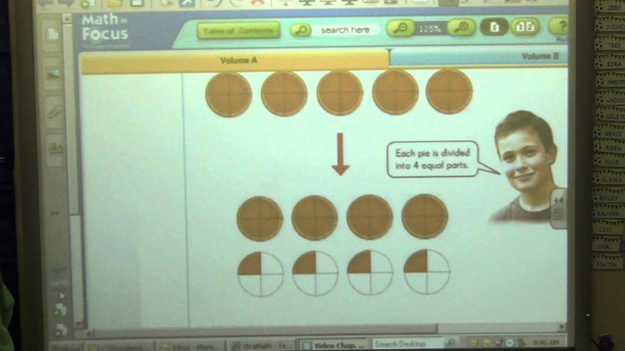 5th Grade - Math In Focus - Chapter 3 - YouTube