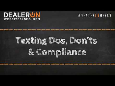Texting Do's, Don'ts & Compliance