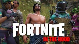 Fortnite In The Hood  ft ItsReal85Vids, Stondie & Berleezy Comedy Skit