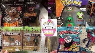 Toy Hunt # 130 FNAF Squishies Pokemon Jiggly Dos Roblox Minecraft Pikmi Pops LOL Surprise