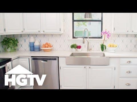 Refresh Your Kitchen With a Removable Backsplash - HGTV