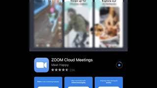 ZOOM - iphone leh ipad ah install zia
