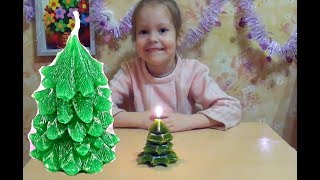 #Новогодняя свеча своими руками  #Мастер класс с детьми #свечи на #Новый год #своими руками