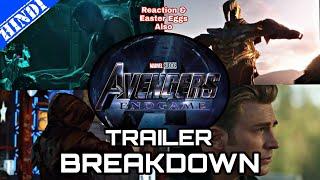 Avengers 4 Endgame - Trailer Breakdown and Easter Eggs | Reaction/Review | Explained in Hindi