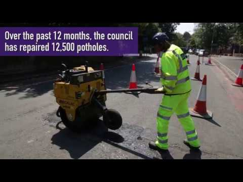 Liverpool City Council -  Improving the city's road network