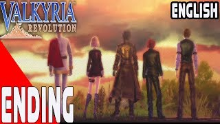 Valkyria Revolution - Walkthrough Part 14 - Ending -English- No Commentary