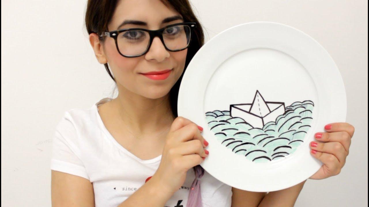 Diy san valentin regalos hechos a mano para tus amigos - Decoracion de platos ...