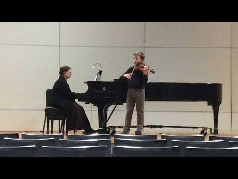North Carolina School of the Arts Competition 2017 Bruch Violin Concerto