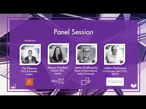 IAB Europe Webinar: Blockchain and its impact on the digital