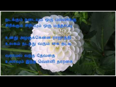 Anjali Anjali Anjali Chinna Kanmani (Karaoke)